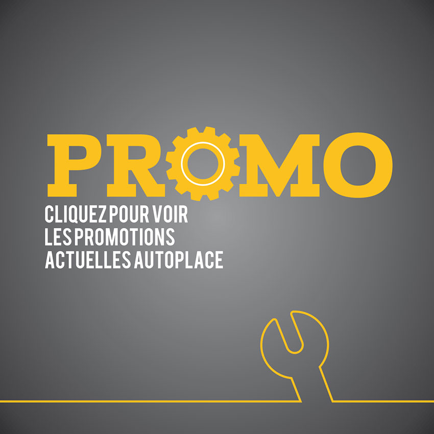 promotion automobile garage autoplace